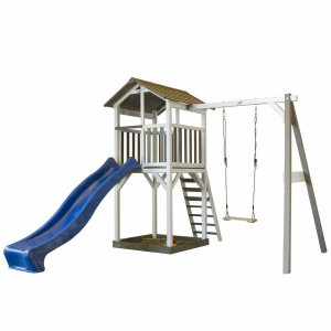 Beach Tower Single Swing Casetta per Bambini in Legno SUNNY