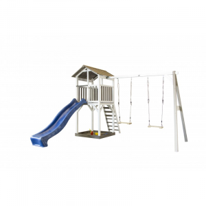 Beach Tower Double Swing Casetta per Bambini in Legno SUNNY