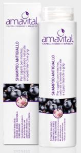 Shampoo Antigiallo capelli biondi e bianchi 250ml Amavital