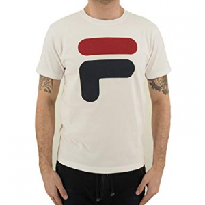 T SHIRT FILA LOGO WHITE/RED/BLUE 39 2021 0100