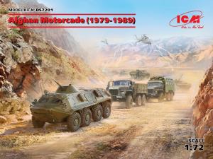 Afghan Motorcade (1979-1989)