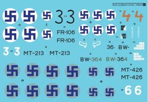 Me-109G-6 Ilmari Juutilainen