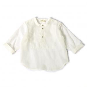 Camicia bianca con bottoni