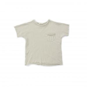 T-Shirt grigia con taschino
