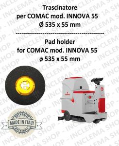 TRASCINATORE for INNOVA 55 Dimensions ø 535 x 55 pioli for scrubber dryers COMAC