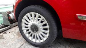 Cerchi in lega Fiat 500 serie dal 2007 al 2015 dm 15 SENZA GOMME