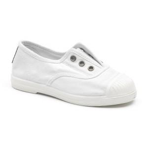 Scarpe bianche senza lacci