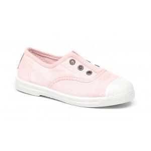 Scarpe rosa chiaro senza lacci
