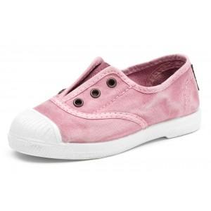 Scarpe rosa senza lacci