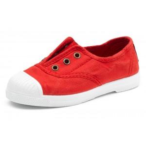 Scarpe rosse senza lacci