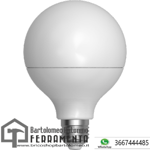 LAMPADA LED GLOBO SMOOTH E27 12W 6400K-2