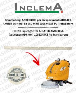 AMBER 66 Heavy goma de secado delantera para fregadora ADIATEK (tergi da 950 mm)