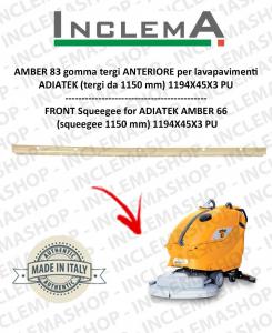 AMBER 83 goma de secado delantera para fregadora ADIATEK (tergi da 1150 mm)