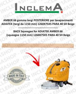 AMBER 66 goma de secado trasero para fregadora ADIATEK (tergi da 1150 mm)