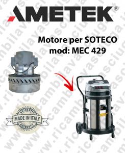 MEC 429 MOTORE ASPIRAZIONE AMETEK per aspirapolvere SOTECO