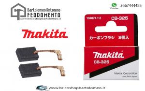 Spazzole Carboncini Ricambio originali Makita CB-325
