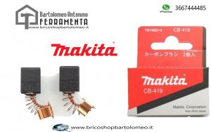 Spazzole Carboncini Ricambio originali Makita CB-419