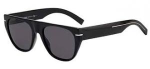 Christian Dior - Occhiale da Sole Uomo, Dior Black Tie, Black Dark Ruthenium/Grey 257S 807/IR