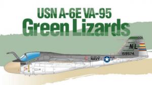 USN A-6E VA-95 Green Lizards