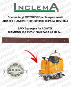 Gomma tergi POSTERIORE per lavapavimenti  ADIATEK DIAMOND 100