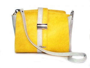 Borsa gialla/beige Cardarelli