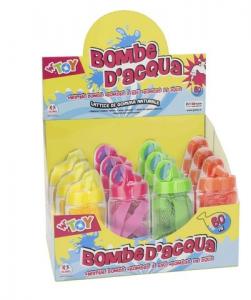 BOMBE ACQUA 60PZ C/RETE 4 COL.12PZ D/BOX 39243 GLOBO