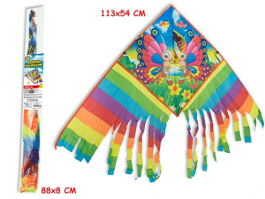 AQUILONE ARCOBALENO 4 MDL ASS. 113X54CM 51855 TEOREMA
