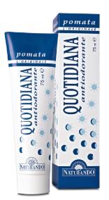 Quotidiana Pomata Antiodorante 75ml Naturando