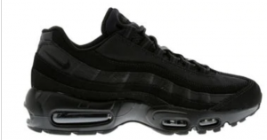 NIKE AIR MAX '95 BLACK/BLACK-ANTHRACITE 609048 092