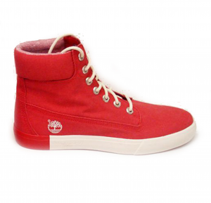 Stivali 6-inch Timberland Newport Bay Canvas Haute Red