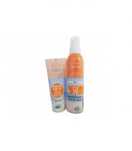 AVENE Spray 50+ IN Omaggio Trixera detergente nutri-fluido