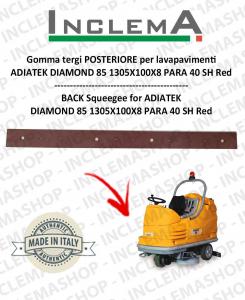 goma de secado trasero para fregadora  ADIATEK DIAMOND 85