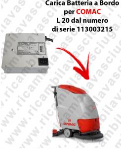 Carica Batteria a Bordo para fregadora COMAC L 20 dal 113003215