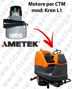 KRON L1 Lamb Ametek vacuum motor di aspirazione for Scrubber Dryer CTM