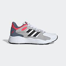 SCARPE ADIDAS NEO EE5589 WHITE/BLACK/SOLAR RED