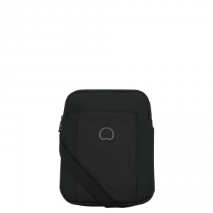 Delsey - Picpus - Mini reporter verticale flat 1 scomparto porta tablet 9.7 pollici nero cod. 3354112-2
