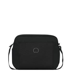 Delsey - Picpus - Mini borsa orizzontale 2 scomparti 10.1 pollici nero cod. 3354111