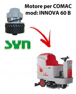 INNOVA 60 B vacuum motor SYN for Scrubber Dryer Comac