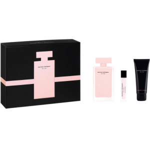 Narciso Rodriguez For Her Eau De Parfum Spray 100ml Set 3 Parti 2019