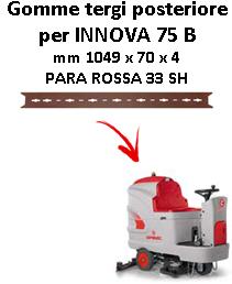 INNOVA 75 B GOMMA TERGI posteriore Comac