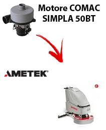 SIMPLA 50BT  motor de aspiración Ametek fregadora Comac