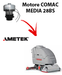 MEDIA 28BS Ametek vacuum motor for scrubber dryer Comac
