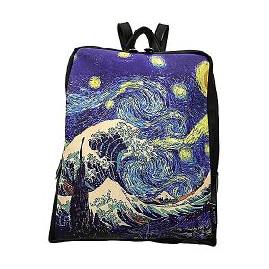 Merinda Backpack Art Line Women