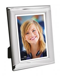 Portafoto satinato per foto 10x15 cm.10x1,2x15h