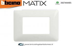 MATIX PLACCA BIANCA 3 POSTI