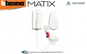Matix - pulsante 1P NO a tirante
