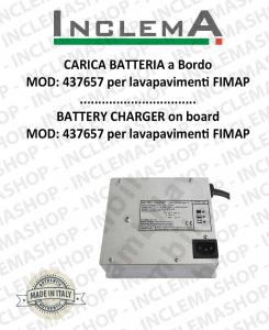 Carica Batteria a Bordo MOD: 437657 per lavapavimenti FIMAP