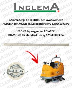 Gomma tergi ANTERIORE per lavapavimenti  ADIATEK DIAMOND 85 Standard Heavy