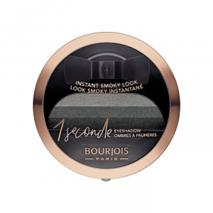 Bourjois 1 Seconde Eyeshadow 001 Black On Track 3g