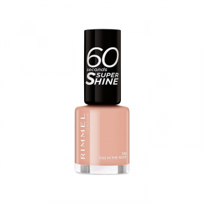 Rimmel 60 Seconds Super Shine 708 Kiss In The Nude